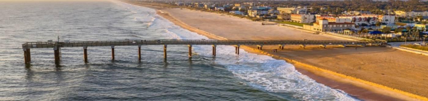 st augustine florida beach pier